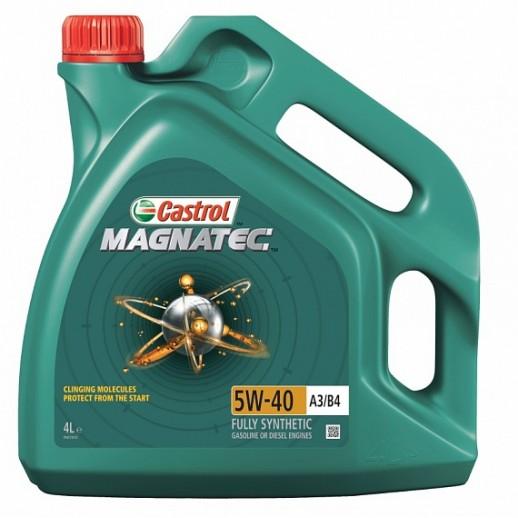 Масло моторное  Castrol Magnatec 5W-40 A3/B4 4л  156E9E 156E9E Castrol