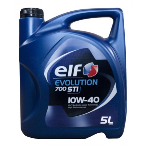 Масло моторное  Elf EVOLUTION 700 STI ELF 10W40 5л Elf EVOLUTION 700 STI ELF 10W40 5л 201554 Elf