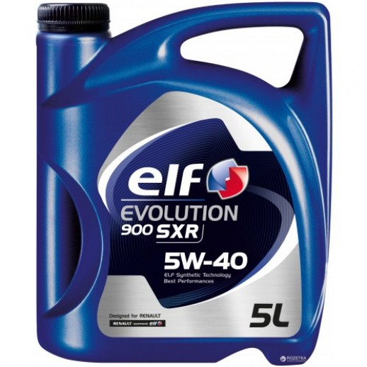 Масло моторное  Elf EVOLUTION 900 SXR ELF 5W40 5L Elf EVOLUTION 900 SXR ELF 5W40 5L 194877 Elf