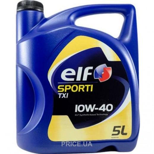 Масло моторное  ELF 10W40 SPORTI 7 5л ELF 10W40 SPORTI 7 5л 208442 Elf