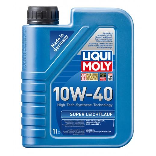 Liqui Moly масло моторное полусинтетическое дизельное Super Diesel Leichtlauf 10W-40 1л
