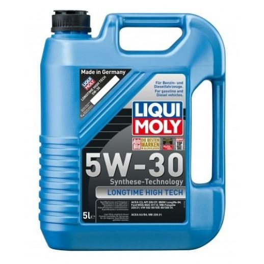Масло моторное Liqui Moly синтетическое универсальное Longtime High Tech 5W-30 5л 9507 9507 Liqui Moly