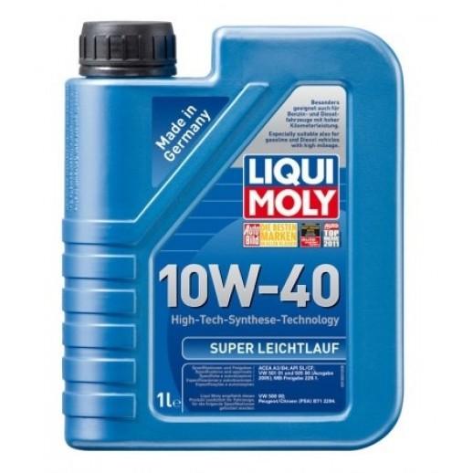 Liqui Moly НС-синтетическое моторное масло Super Leichtlauf 10W-40 1л