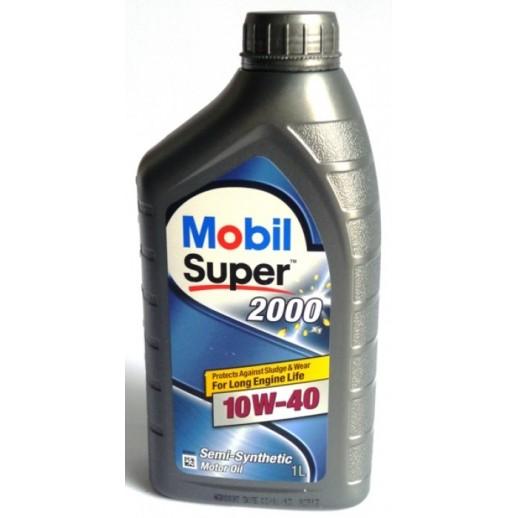 Масло моторное  Mobil  SUPER 2000 X1 10W-40 1л Mobil Mobil  SUPER 2000 X1 10W-40 (1л) 152569 Mobil