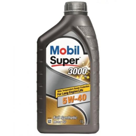 Масло моторное  Mobil SUPER 3000 X1 5W-40 1л Mobil Mobil SUPER 3000 X1 5W-40 1л 152567 Mobil