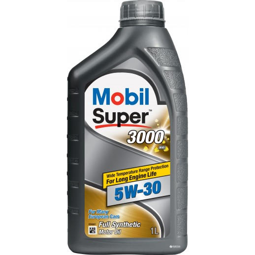 Масло моторное  Mobil SUPER 3000 XE 5W-30 1л Mobil Mobil SUPER 3000 XE 5W-30 (1л) 150943 Mobil