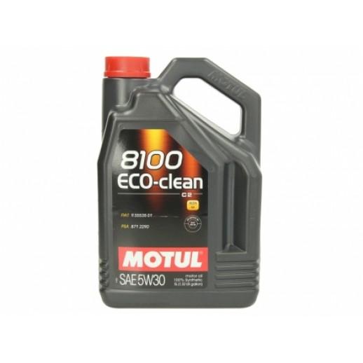 Масло моторное  Motul 8100 Eco-clean 5W-30 5л  купить в Минске
