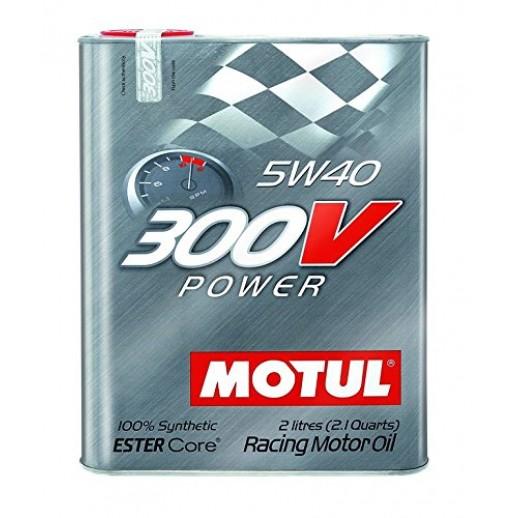 Масло моторное  Motul Power 300V 5W-40 2л  купить в Минске