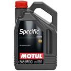 Масло моторное  Motul SPECIFIC 229.52 5W30 5л  купить в Минске