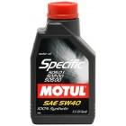 Масло моторное  Motul SPECIFIC 502.00-505.00-505.01 5W40 1л  купить в Минске
