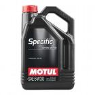 Масло моторное  Motul SPECIFIC 504.00-507.00 5W30 5L  купить в Минске