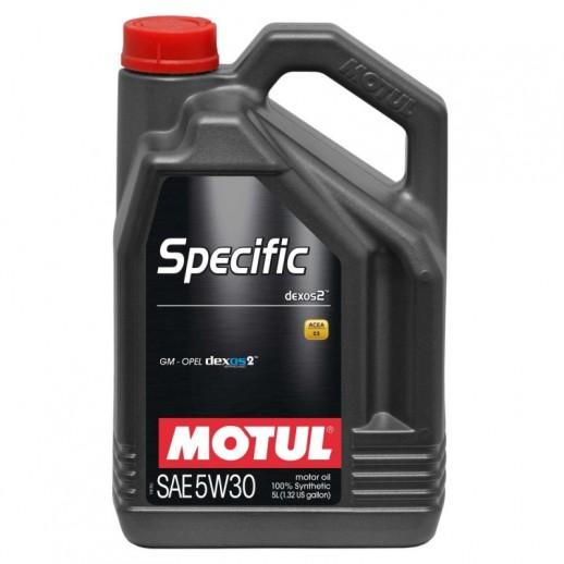 Масло моторное  Motul SPECIFIC DEXOS2 MOTUL 5W30 5л  купить в Минске