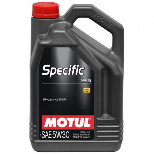 Масло моторное  Motul Specific 229.51 5W-30 5л  купить в Минске