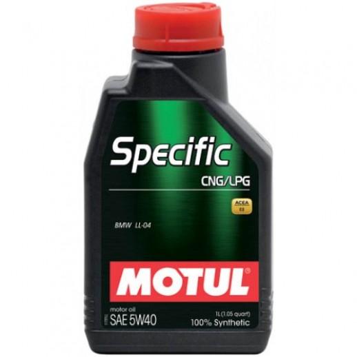 Масло моторное  Motul Specific CNG/LPG 5W-40 1л  купить в Минске