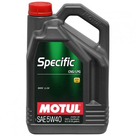 Масло моторное  Motul Specific CNG/LPG 5W-40 5л  купить в Минске