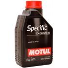 Масло моторное  Motul Specific Specific 504.00-507.00 5W-30 1л  купить в Минске