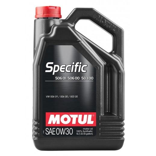 Масло моторное Motul SPECIFIC 506.01-506.00-503.00 0W30 5л  купить в Минске