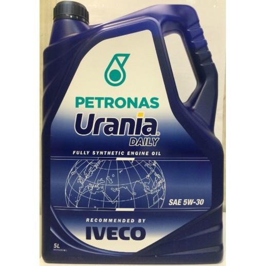 Масло моторное  PETRONAS URANIA DAILY 5W-30 5л  купить в Минске