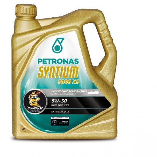 Масло моторное  PETRONAS SYNTIUM 5000 XS 5W-30 4л PETRONAS SYNTIUM 5000 XS 5W-30 4l, 18144019 18144019 PETRONAS
