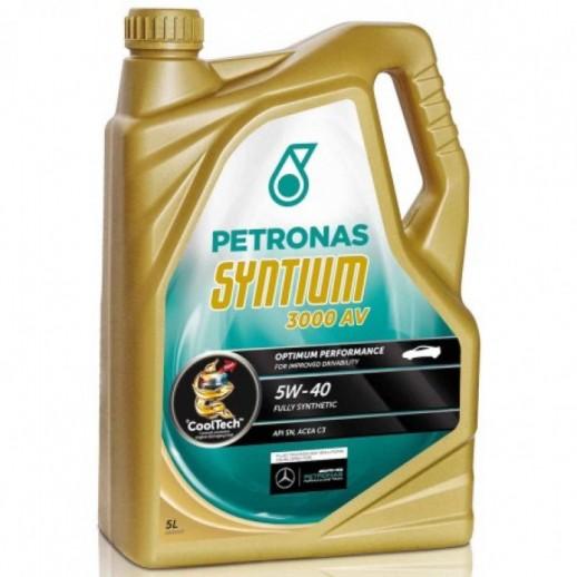 Масло моторное  PETRONAS SYNTIUM 3000 AV  5W-40 4л PETRONAS SYNTIUM 3000 AV  5W-40 4l 18284019 PETRONAS