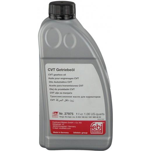 Жидкость FEBI 27975 для АКПП и редукторов CVT желтая 1L 27975 27975 FEBI