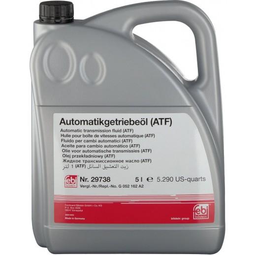 Жидкость FEBI 29738  для АКПП и г/у жёлтая 5L 29738    29738 FEBI