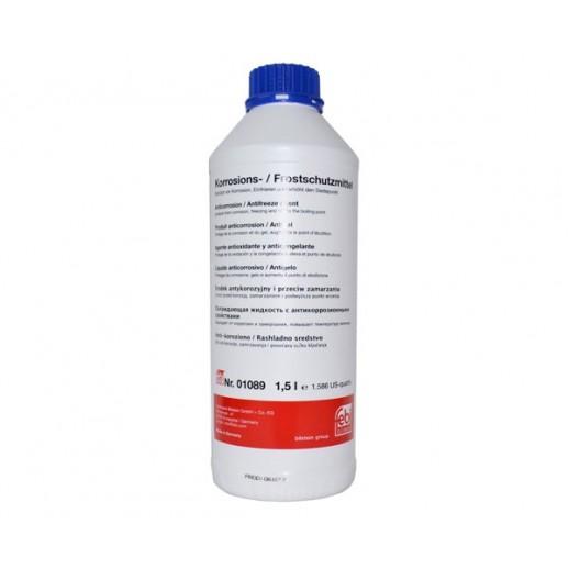 Антифриз синий FEBI 01089 1,5L концентрат 1:1 -40°C   01089 01089 FEBI 16.80 BYN