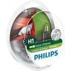 Лампа автомобильная галогеновая PHILIPS 12258LLECOS2 H1 12V  купить в Минске