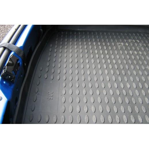 Novline коврик в багажник Peugeot 206 хэтчбек с1998 NLC,38,01,B11  полиуретан