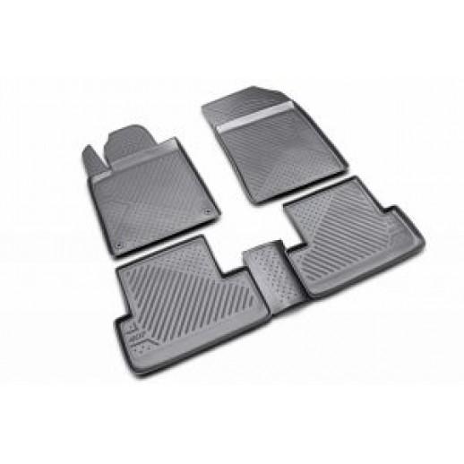 Коврик в салон Novline CARPGT00015 Peugeot 407 04 полиуретан  CARPGT00015 Peugeot 407 04 тан  CARPGT00015 Peugeot 54.10 BYN