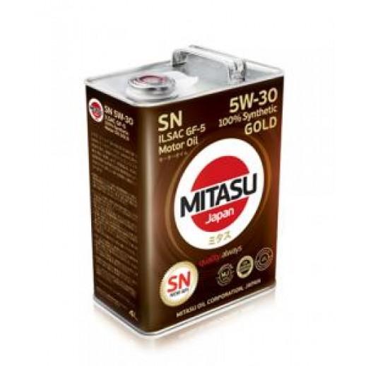 Масло моторное MITASU 5W-30 1L GOLD SN  купить в Минске