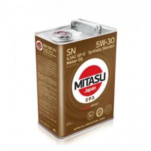 Масло моторное MITASU 5W-30 1L MOTOR OIL SN MITASU MITASU 5W-30 1L MOTOR OIL SN  MITASU