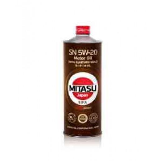 Масло моторное MITASU 5W-20 1L GOLD SN MITASU MITASU 5W-20 1L GOLD SN  MITASU