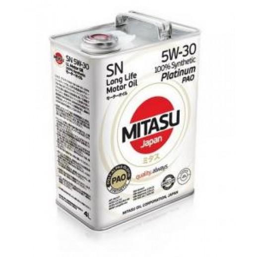 Масло моторное MITASU 5W-30 1L PLATINUM PAO SN MITASU MITASU 5W-30 1L PLATINUM PAO SN  MITASU