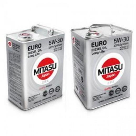 Масло моторное MITASU 5W-30 1L EURO DIESEL LL MITASU MITASU 5W-30 1L EURO DIESEL LL  MITASU