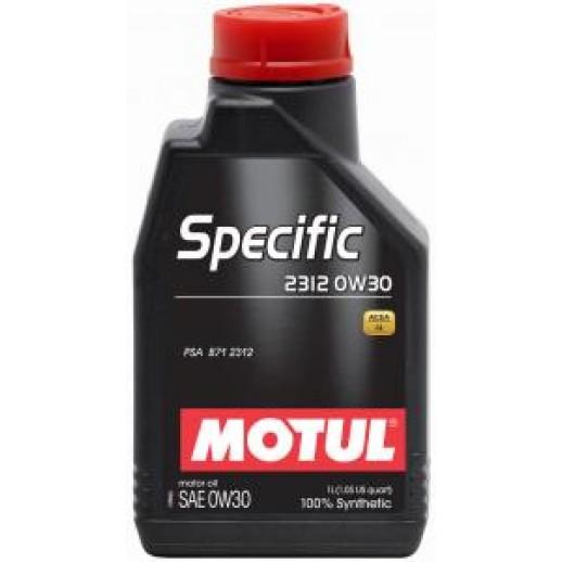 Масло моторное  Motul SPECIFIC 2312 MOTUL 0W30 5л  купить в Минске