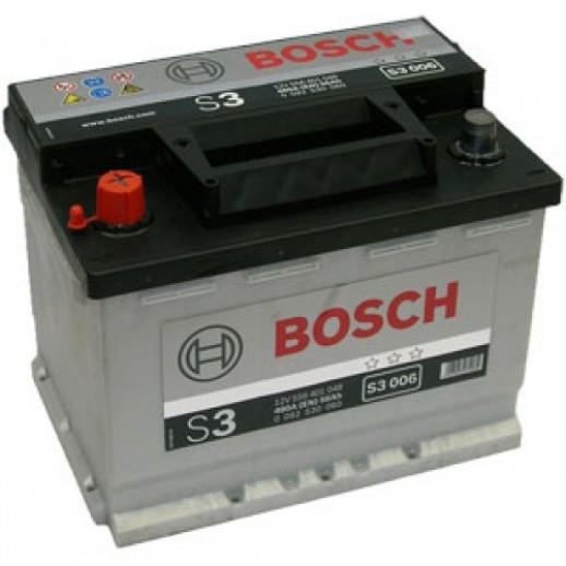 Аккумулятор BOSCH S3 12V 56AH 480A 0092S30060 BOSCH S3 12V 56AH 480A 0092S30060 0092S30060 BOSCH 183.60 BYN
