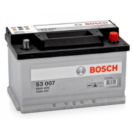 Аккумулятор BOSCH S3 S3007 570144064 70A  купить в Минске