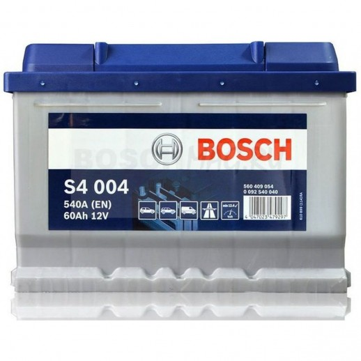 Аккумулятор BOSCH S4 Silver S4004 60Ah 0092S40040 BOSCH S4 Silver S4004  (60Ah) 0092S40040 0092S40040 BOSCH 169.10 BYN