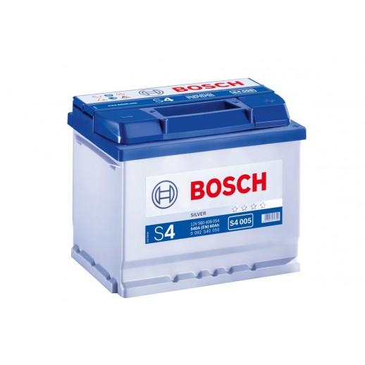 Аккумулятор BOSCH S4 SILVER  60AH 540A 0092S40050 BOSCH S4 SILVER  60AH 540A 0092S40050 0092S40050 BOSCH 169.10 BYN