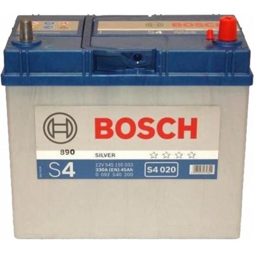 Аккумулятор BOSCH S4 SILVER 12V 45AH 330A 0092S40200 BOSCH S4 SILVER 12V 45AH 330A 0092S40200 0092S40200 BOSCH 126.50 BYN