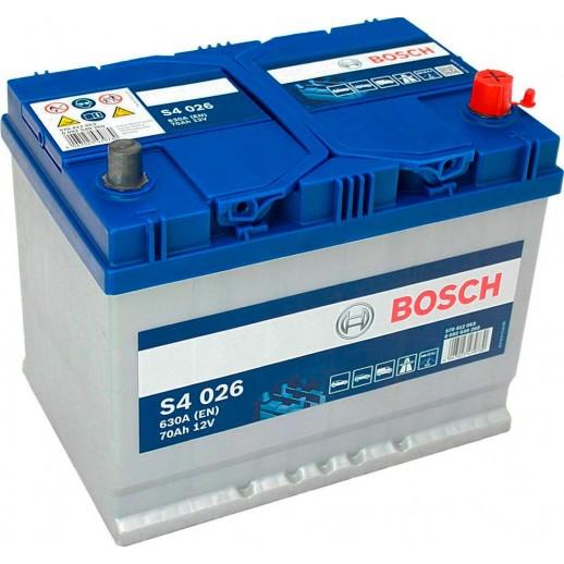 Аккумулятор BOSCH 70Ah 0092S40260 BOSCH 70Ah 0092S40260 0092S40260 BOSCH 220.80 BYN