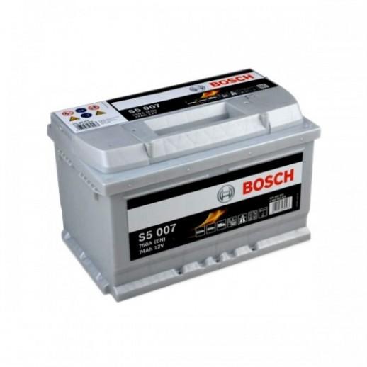 Аккумулятор BOSCH S5 Silver Plus S5007 574402075 74Ah  купить в Минске
