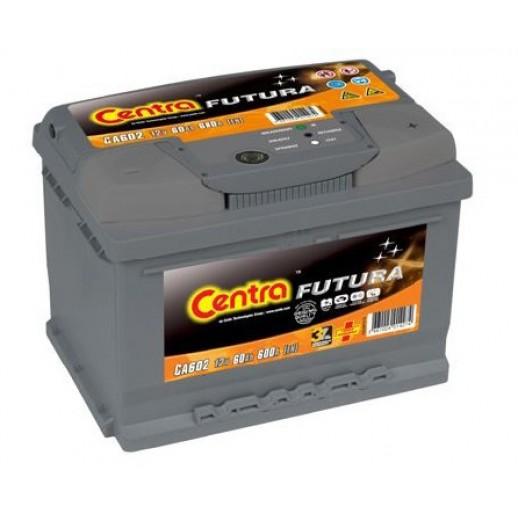 Аккумулятор CENTRA Futura 12V 60Ah 600A ETN 1L+ B13  CENTRA Futura 12V 60Ah 600A ETN 1(L+) B13   Centra 199.20 BYN