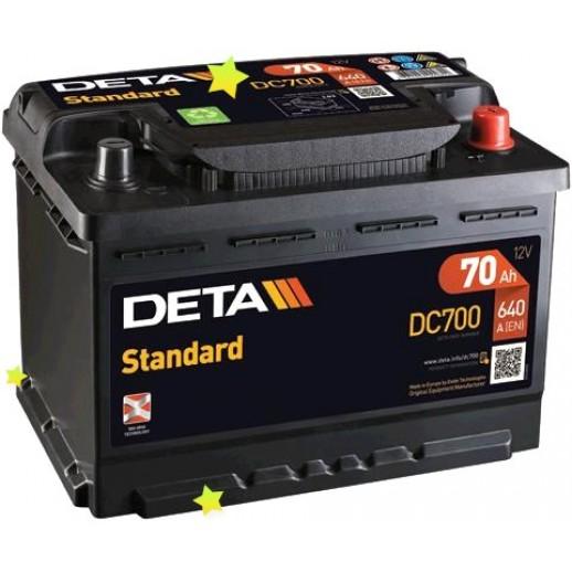 Аккумулятор DETA DC700  купить в Минске