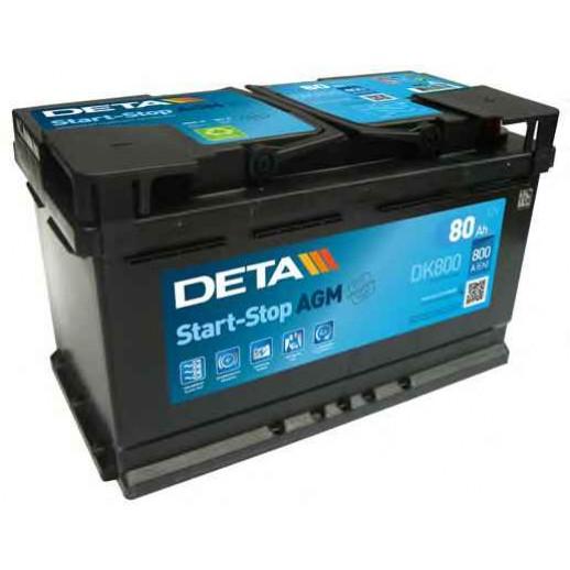 Аккумулятор DETA DK800 DETA MICRO-HYBRID DETA DK800 DK800 DETA 391.00 BYN