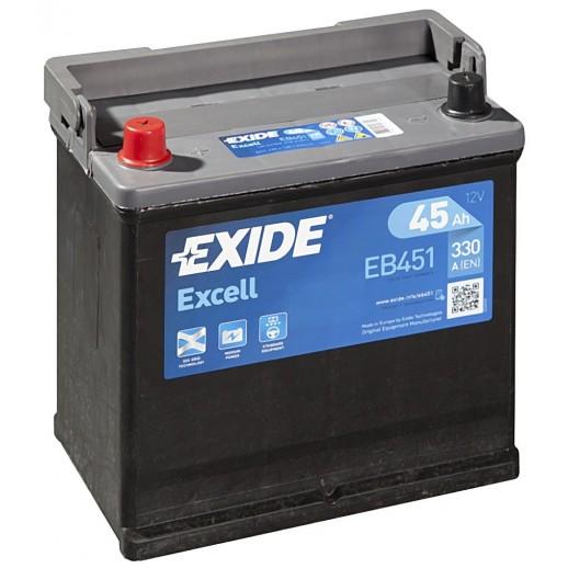 Аккумулятор Exide Excell 45 L 45Ah EB451 Exide Excell 45 L (45Ah) EB451 EB451 Exide 119.60 BYN