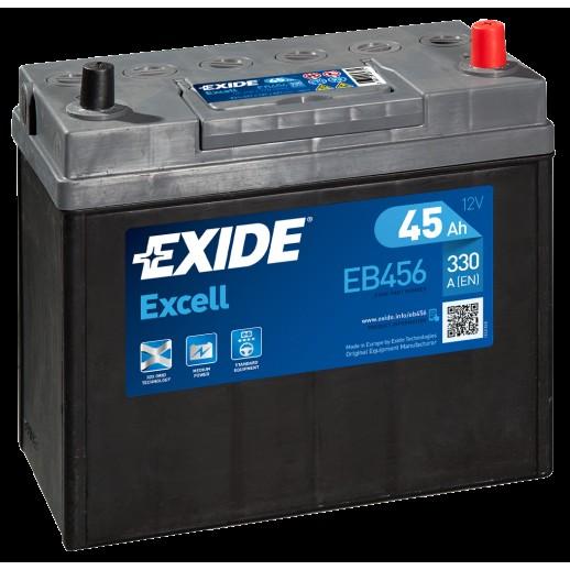 Аккумулятор Exide Excell 45 R 45Ah EB456 тонкие клеммы Exide Excell 45 R (45Ah) EB456 EB456 Exide 119.00 BYN