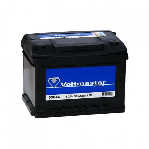 Аккумулятор  VOLTMASTER 12V 50AH 510A ETN 0R+ B13  купить в Минске
