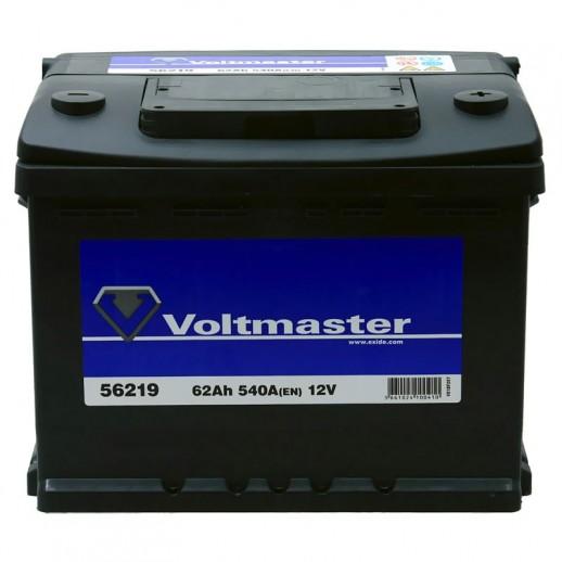 Аккумулятор  VOLTMASTER 12V 62AH 540A ETN 0(R+) B13